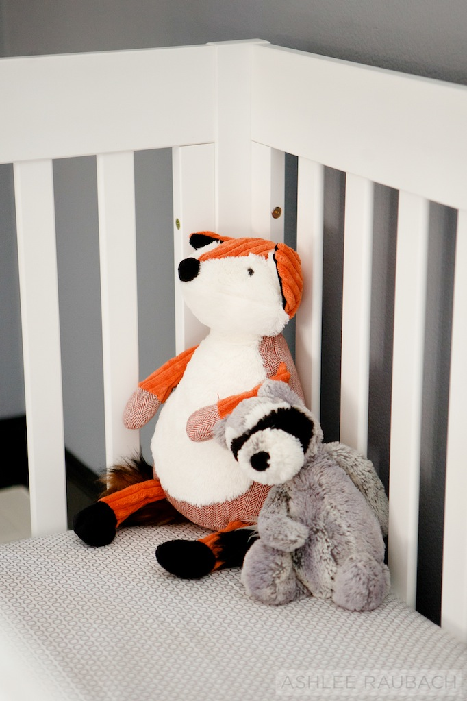 modern black and white nursery becki owens blog