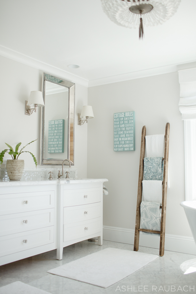 White Marble Bathroom : Timeless white marble bathroom owens and davis