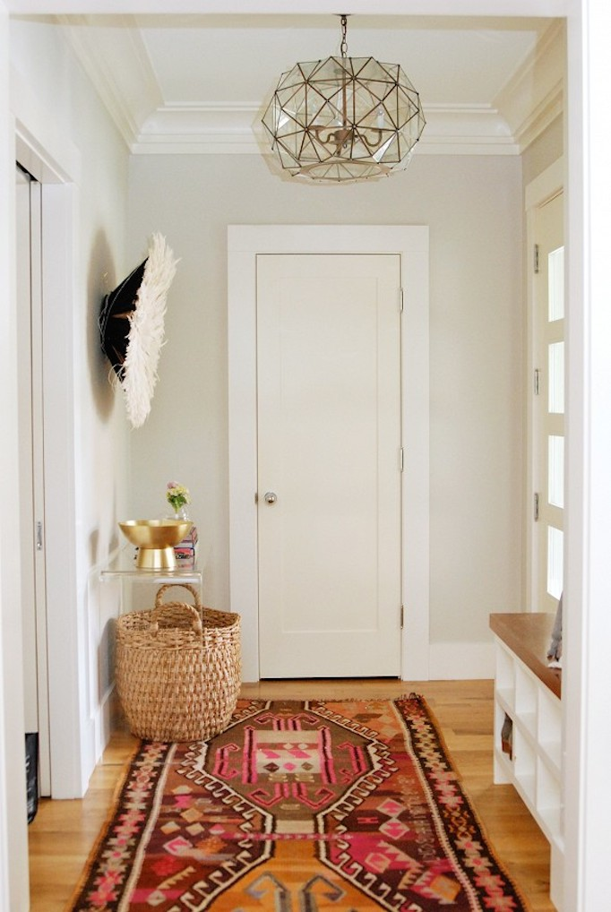 Foyer Rugs Modern : Picking the right rug becki owens