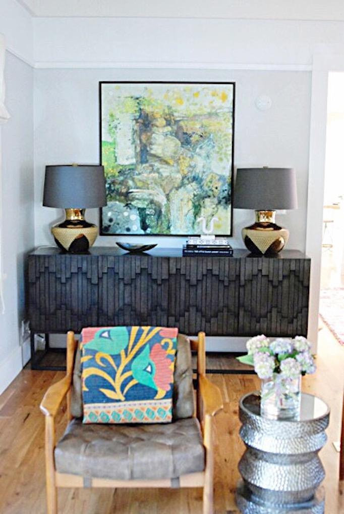 Bohemian electic living room Becki Owens Blog