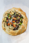 Roasted Vegetable Crostata