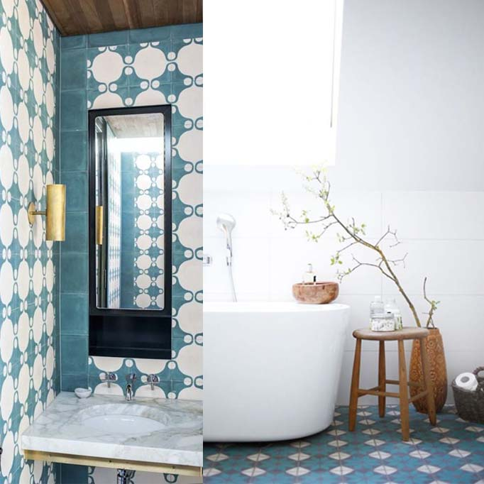 Moroccan And Cement Tile Becki Owens