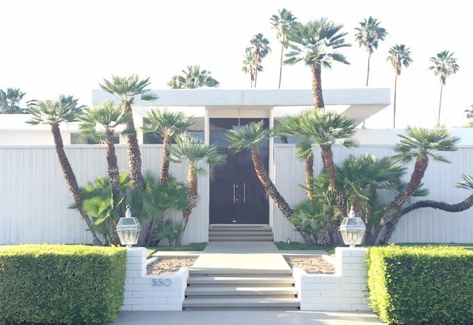 Travelpagesepsitename for New mid century modern homes palm springs
