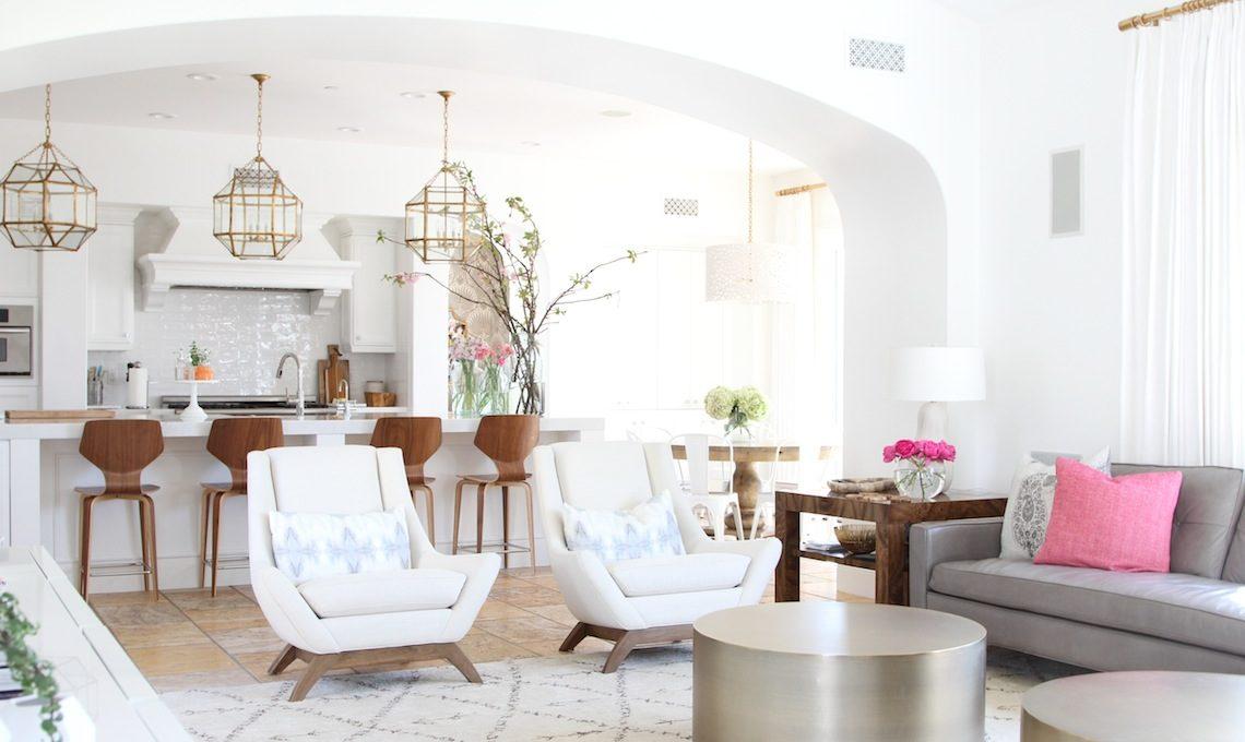 Modern Eclectic Living Room Becki Owens