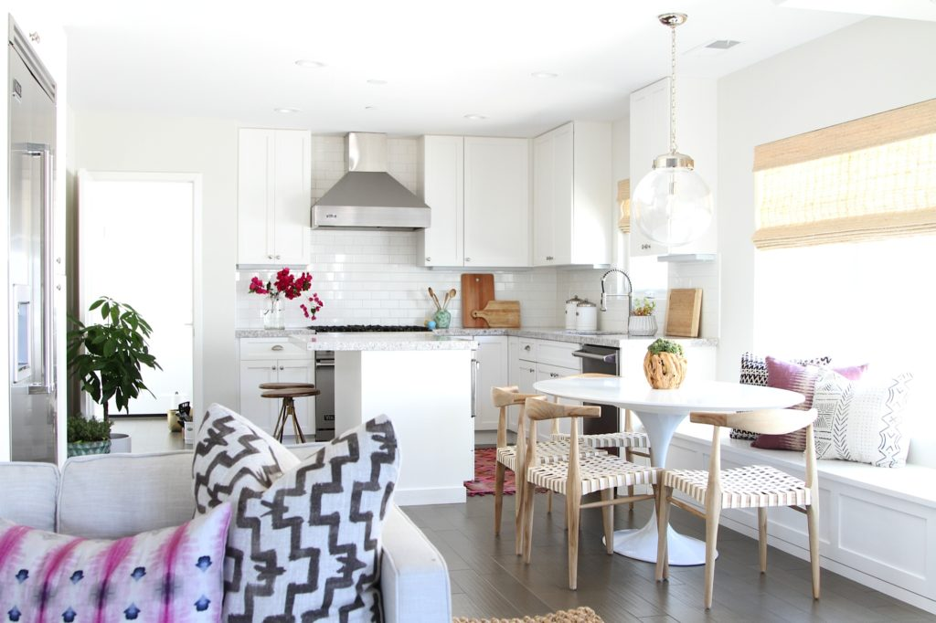 Family Friendly Bohemian Eclectic Kitchen Becki Owens Design