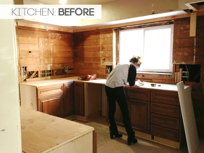 Before and after modern spanish kitchen for California style kitchen