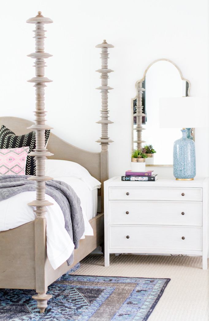 spanish colonial master bedroom