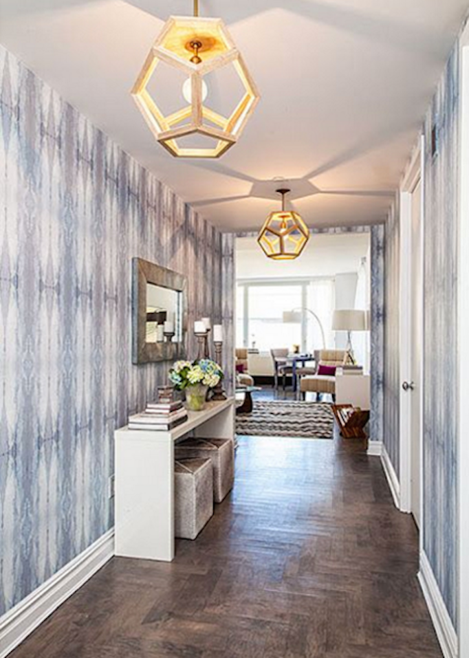 Foyer Wallpaper Designs : Decorating with eskayel wallpaper becki owens