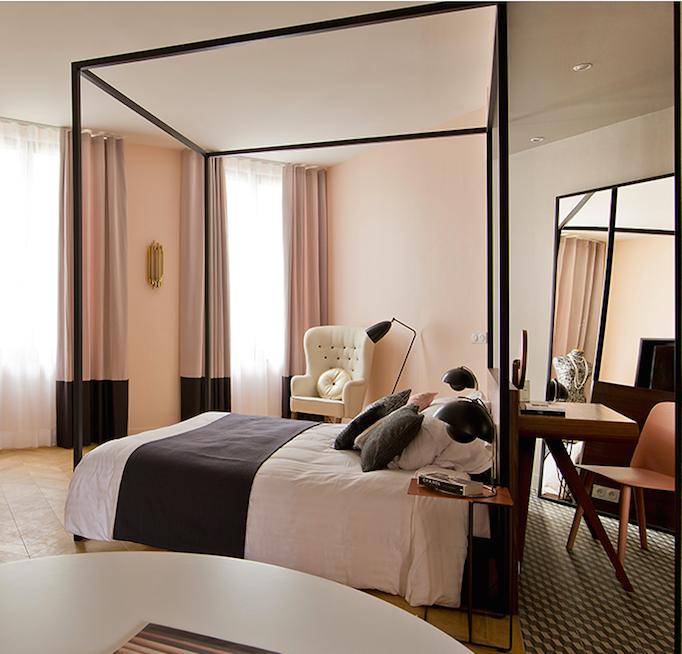 Paris Hotel Interiors