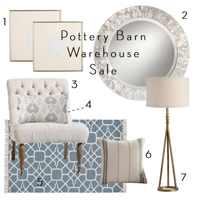 Pottery Barn Warehouse Sale