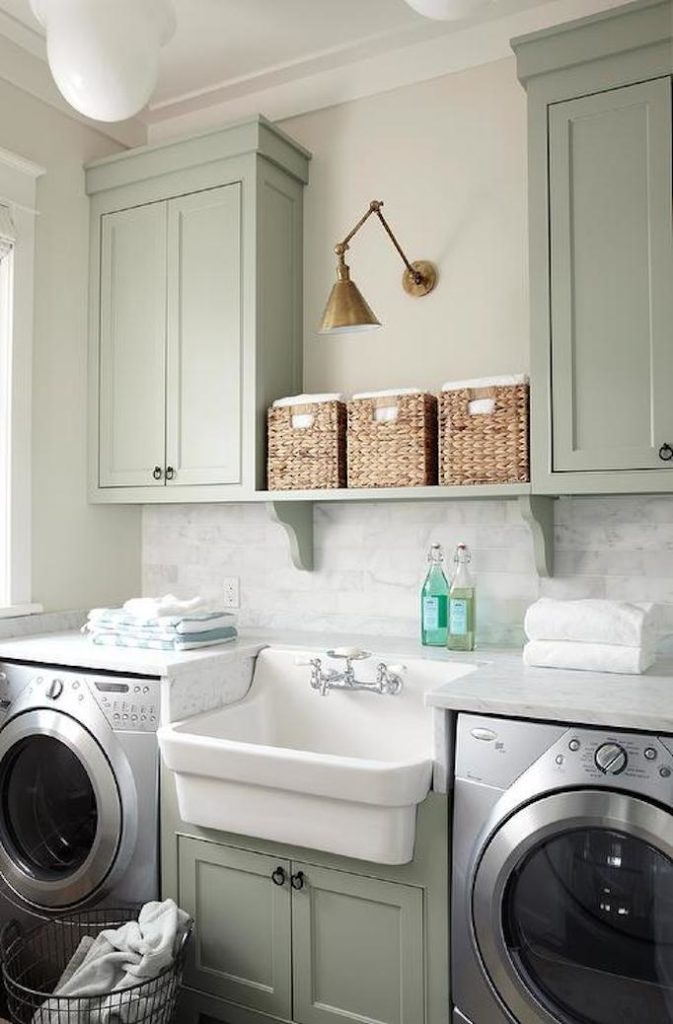 6 tips for designing a laundry room becki owens for How to add a laundry room to your house