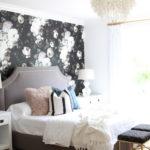 Modern Mix – A Bold Floral Bedroom