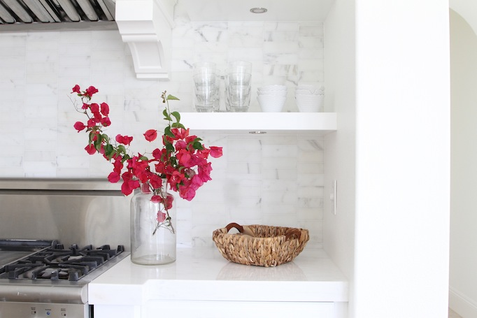 how to style your kitchen for spring BeckI Owens