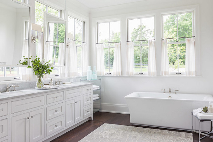 Southern Style Home Master Bathroom