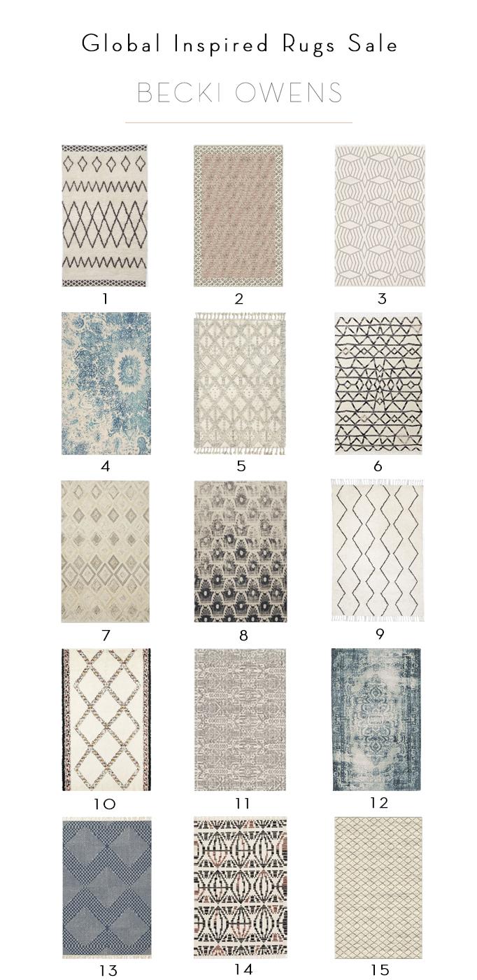global inspired rug sale