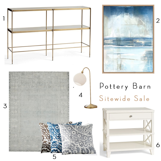 Huge Pottery Barn Sitewide Sale