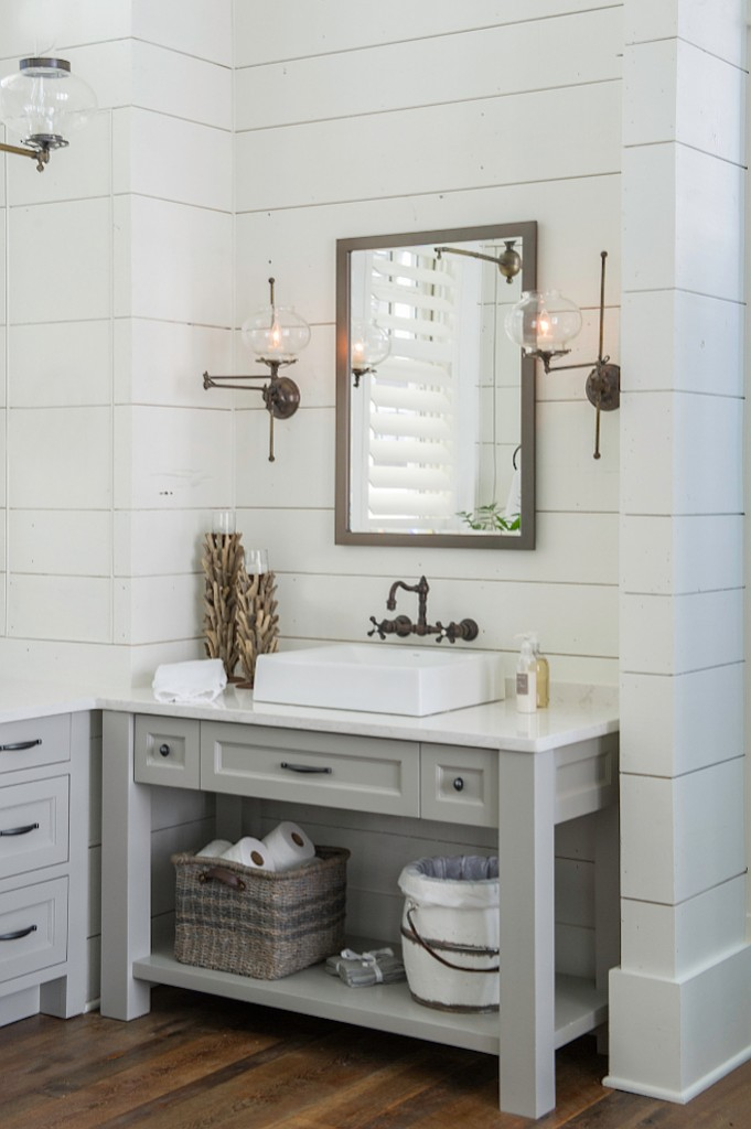 6 inspiring bathrooms pinterest favorites for Pinterest bathroom