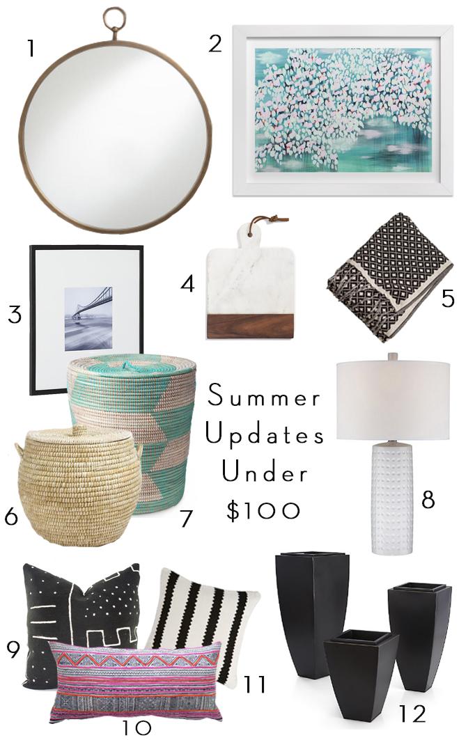 Summer Updates Under $100