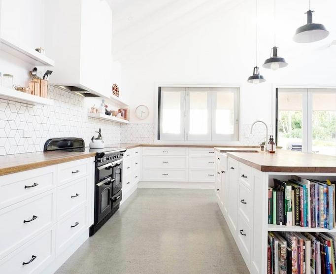 Fresh Floor Kitchen Bath