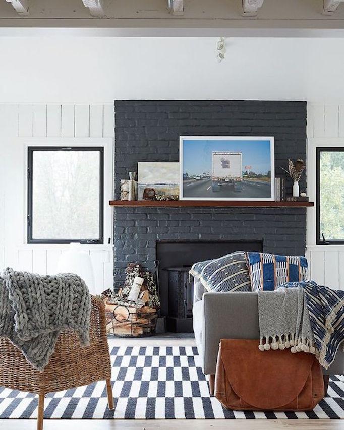 black-painted-brick