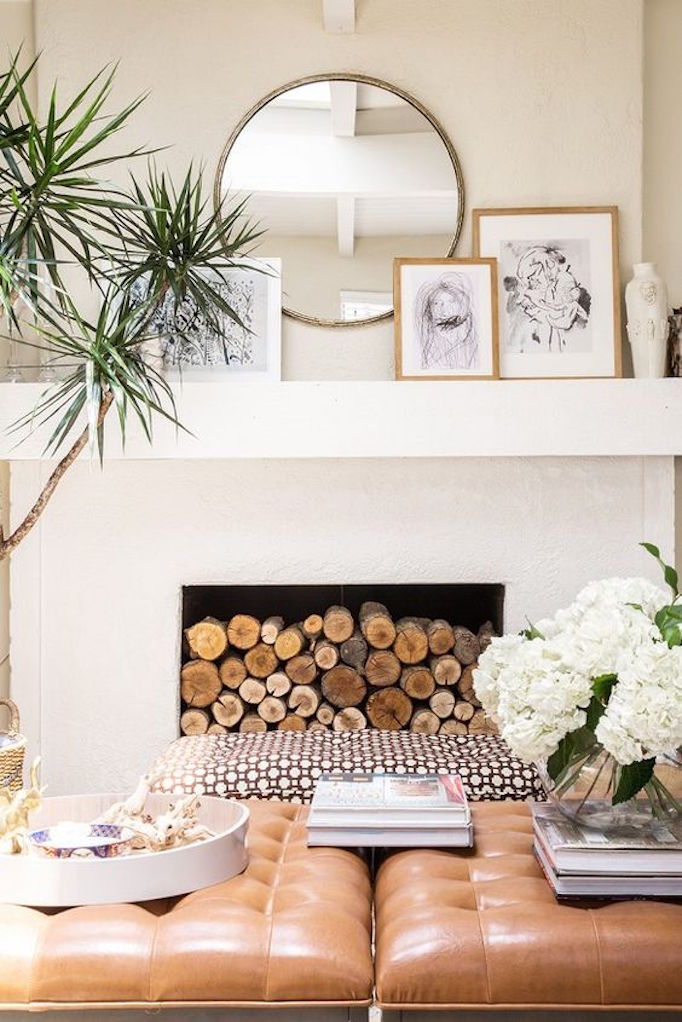 10 Fixes for and Outdated Fireplace - Becki Owens