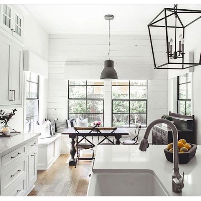 BECKI OWENS White and Black Kitchen
