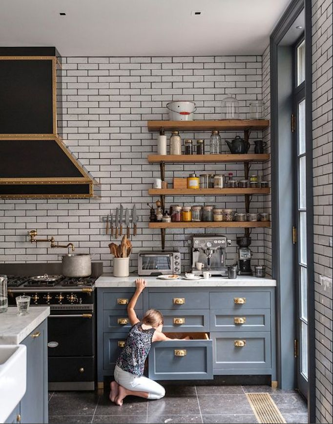 gray-blue-kitchen-cabinetry