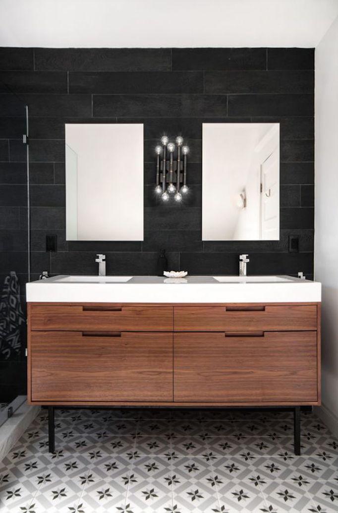 wood+vanity
