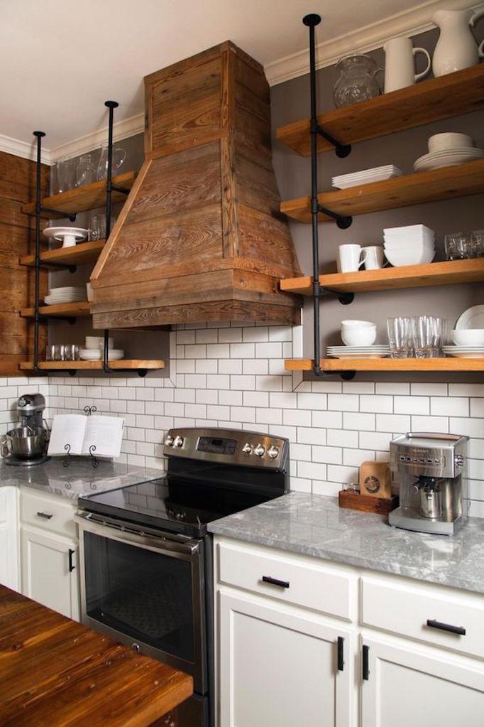 BECKI OWENS Industrial Iron Shelf Brackets