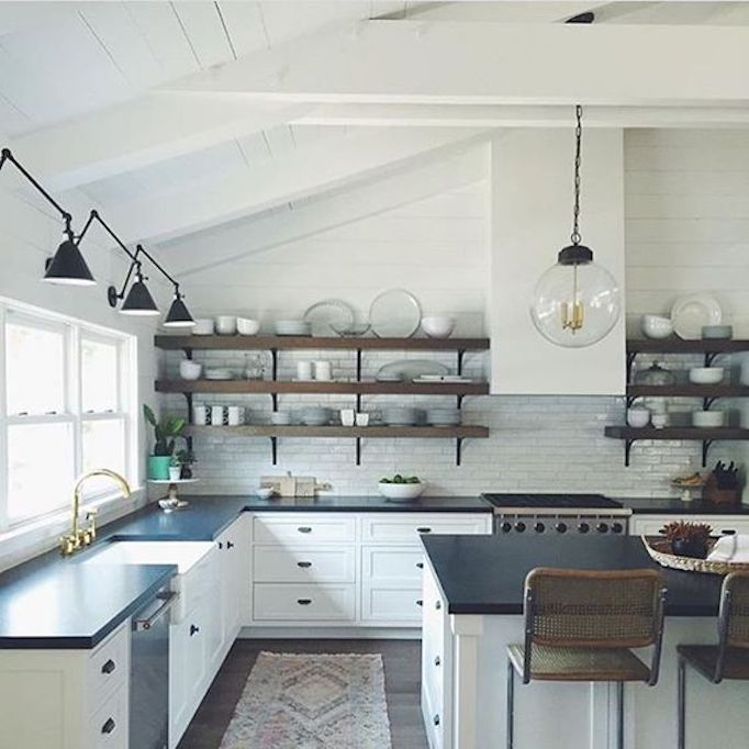 Modern House Interior Paint: Colors Of The Modern Farmhouse + Paint GuideBECKI OWENS