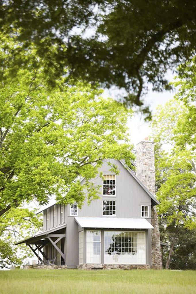 Modern Farmhouse Exterior Colors Gray
