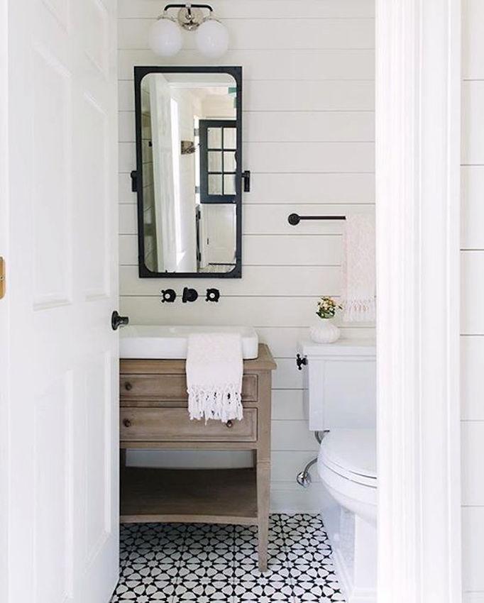 BECKI OWENS Shiplap Bathroom
