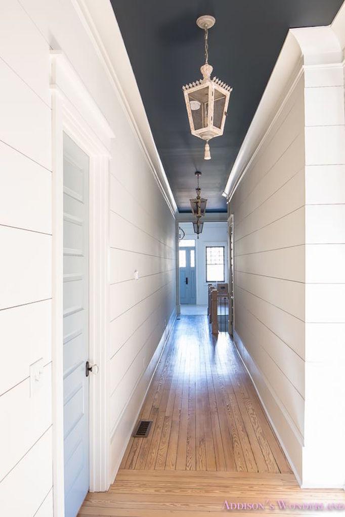 BECKI OWENS Shiplap Hallway