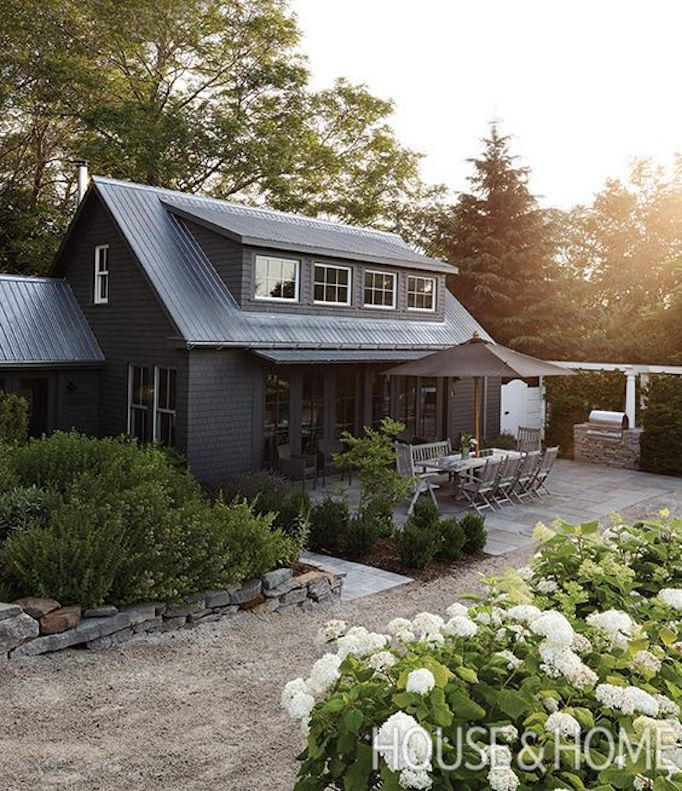 Colors of the modern farmhouse paint guidebecki owens for Industrial farmhouse exterior