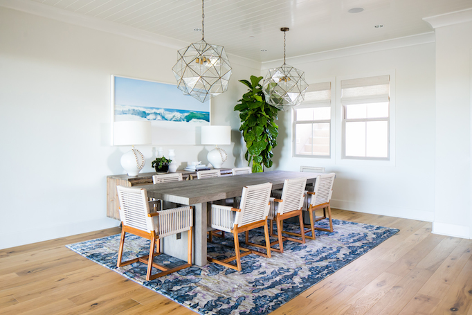 Estillo Project - Modern Coastal Dining RoomBECKI OWENS