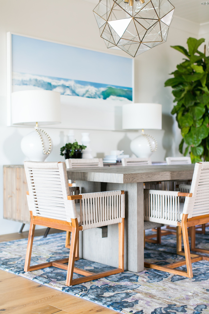 The Rug We Selected For The Space Is A Work Of Art By Eskayel. The Design  Has The Feel Of Ocean Waves At The Beach. This Rug Has A Similar Organic  Look, ...