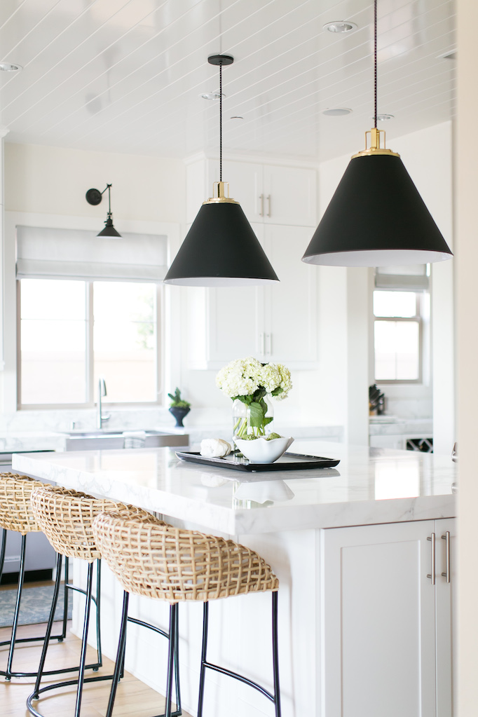 White Kitchen Styling