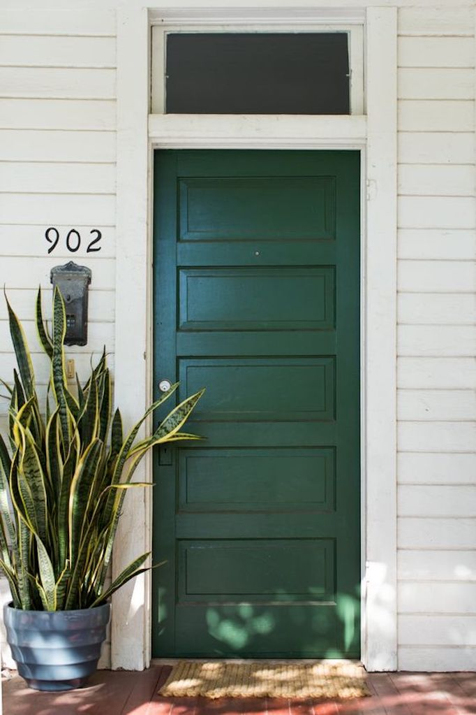 Painted Front Door spring curb appeal: painted front doors + paint guidebecki owens
