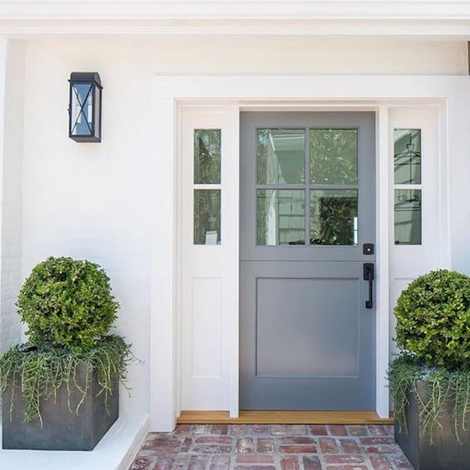 spring curb appeal painted front doors paint guidebecki owens. Black Bedroom Furniture Sets. Home Design Ideas