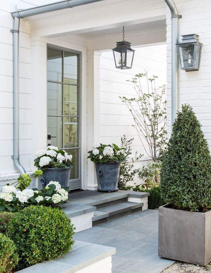 8 Pretty Ideas For Front Porch Plants Becki Owens