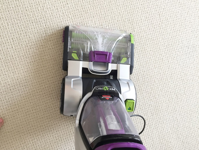 to leave your space stain free and brighten your carpet the final step is to now add bissell oxy boost carpet cleaning formula enhancer to the machine and