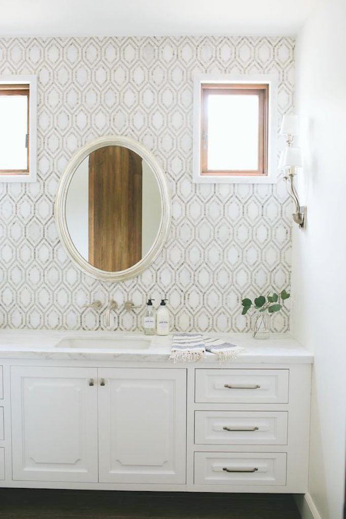 Bathroom Style Trend Tile Statement Wallbecki Owens