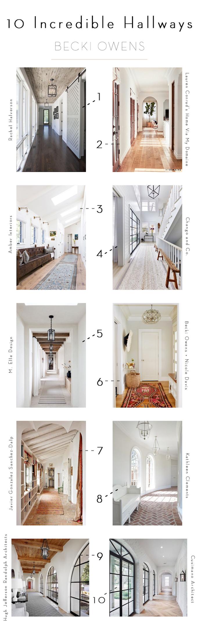 10 incredible hallways