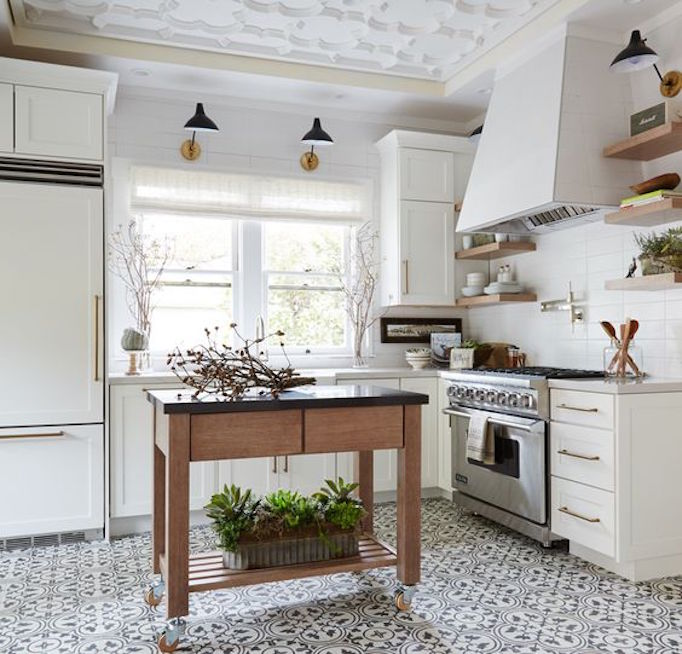 Kitchen Design Network pros and cons: kitchen flooringbecki owens