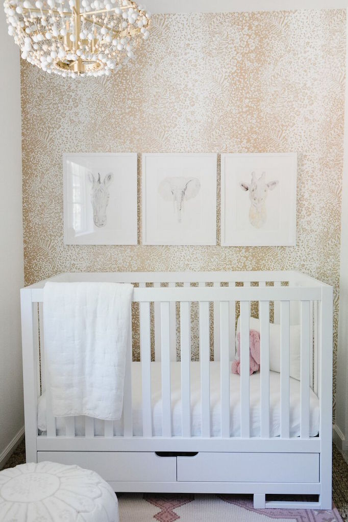A Sweet Baby Girl Nursery for Danielle Walker of Against All Grain