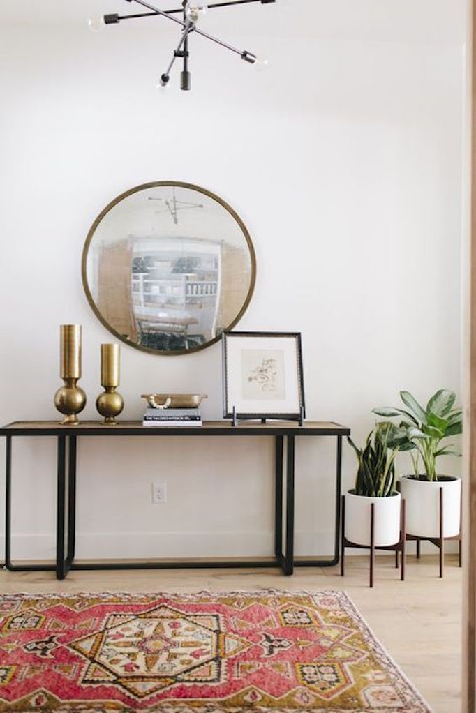 How To Style A Console Tablebecki Owens