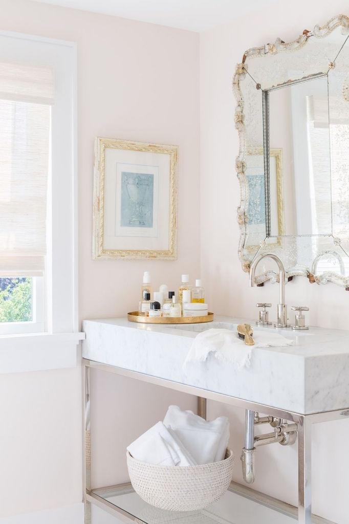 Girly Bathroom Sink Ideas For Small Bathroom: Dream Home: A Fresh, Feminine CoastalBECKI OWENS