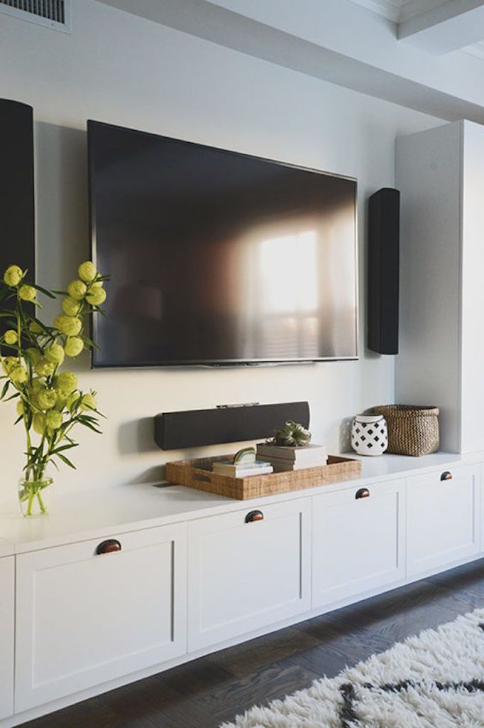 Keep It Simple With A Built In Credenza