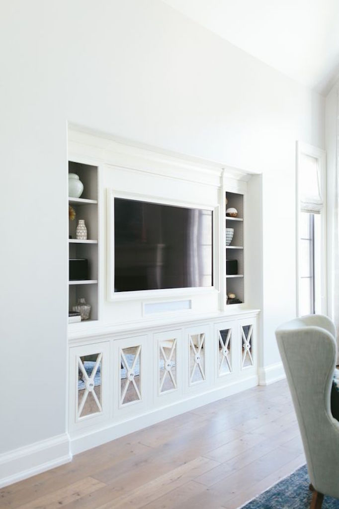 Captivating Make A Pretty Statement With Mirrored Cabinetry