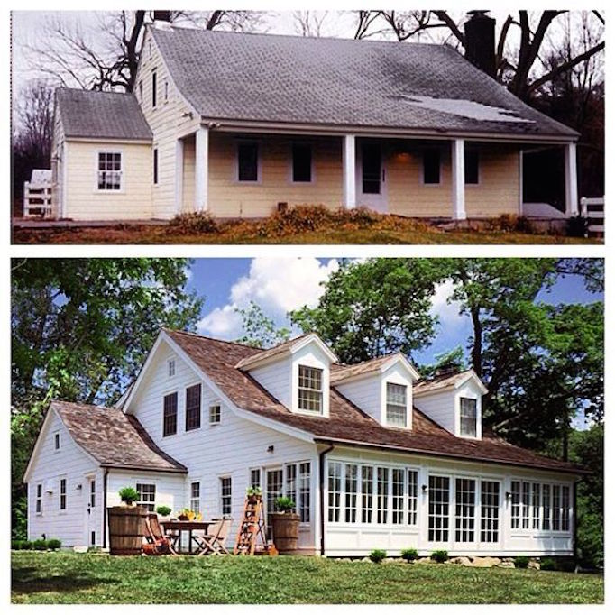 10 inspiring before and after exterior makeoversbecki owens